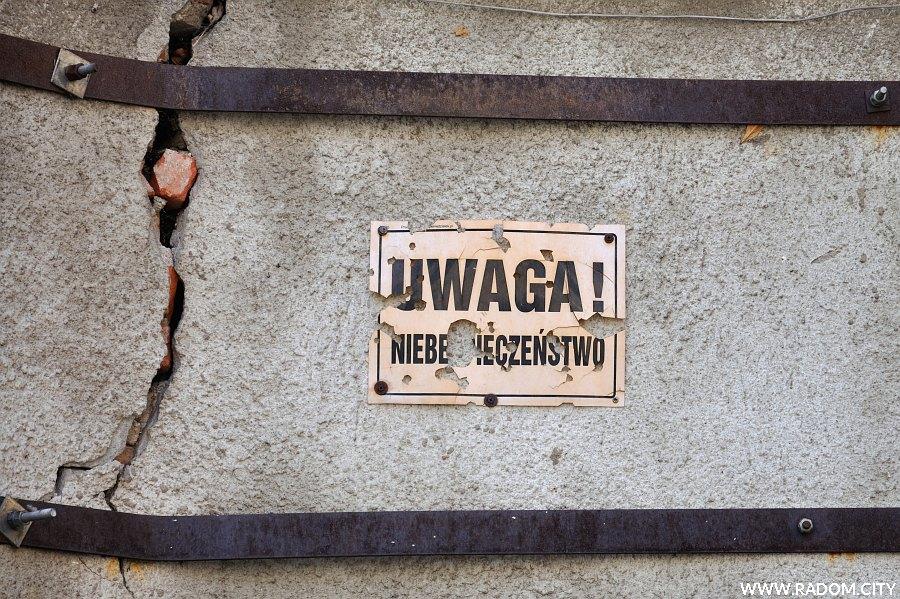 Radom. Uwaga niebezpieczeństwo - Piłsudskiego 19.