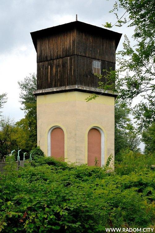 Radom. Wieża ciśnień/ZNTK.