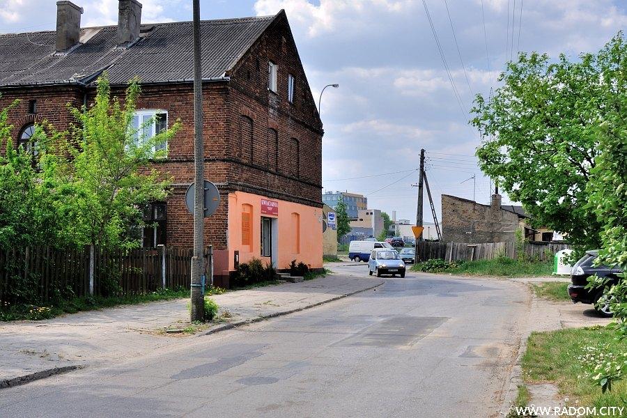 Radom. Ulica Chałubińskiego.