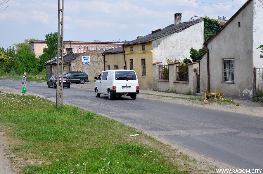 Radom. Ulica Młodzianowska.