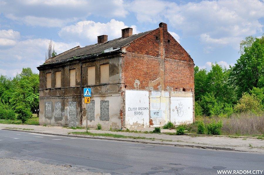 Radom. Dom przy ul. Młodzianowskiej.