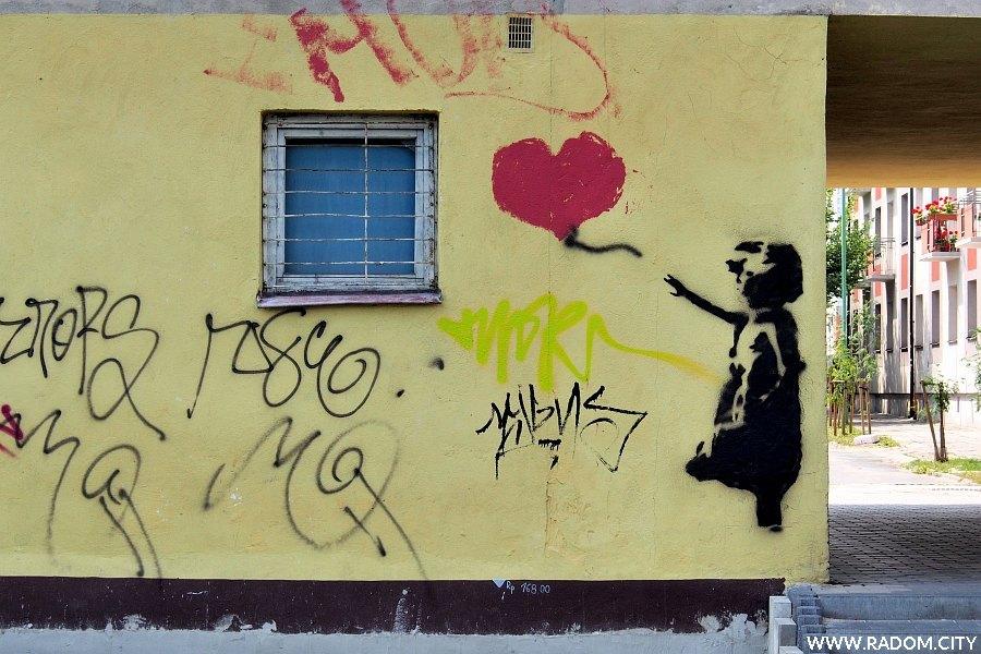 Radom. Graffiti/Niedziałkowskiego.