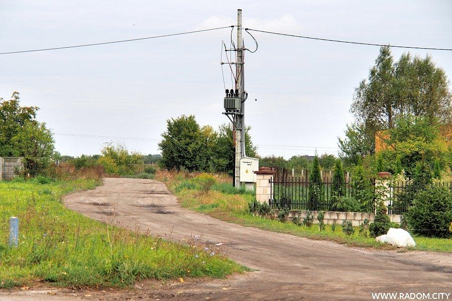 Radom. Ulica Zachodnia z ul. Wolanowskiej.