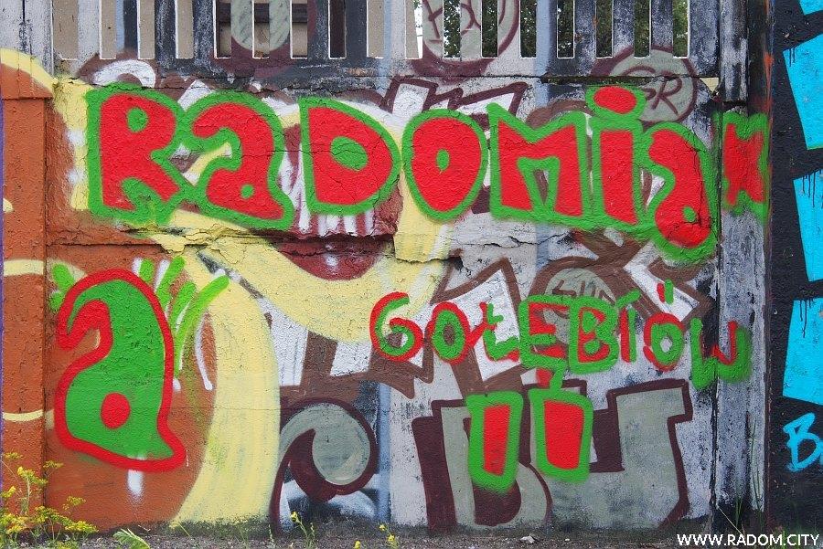 """Radom. """"Radomiak"""" - ul. Czarna."""