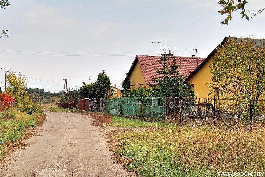 Radom. Ulica Kąkolowa.