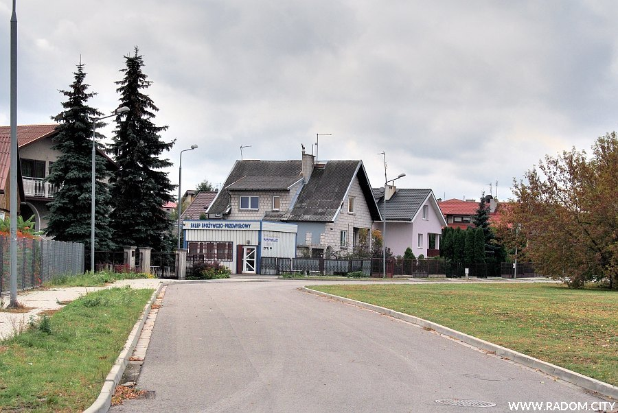 Radom. Ulica Halinowska.