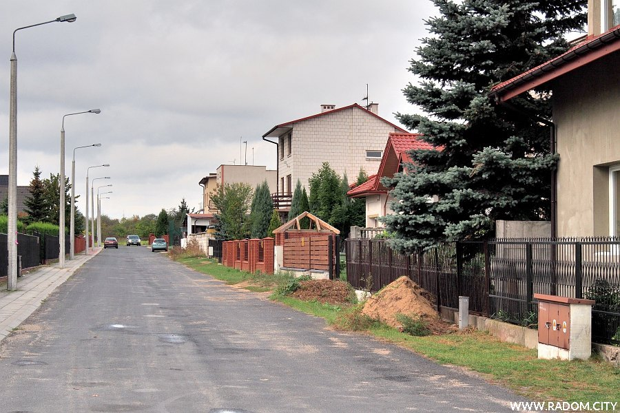 Radom. Ulica Chodkiewicza.