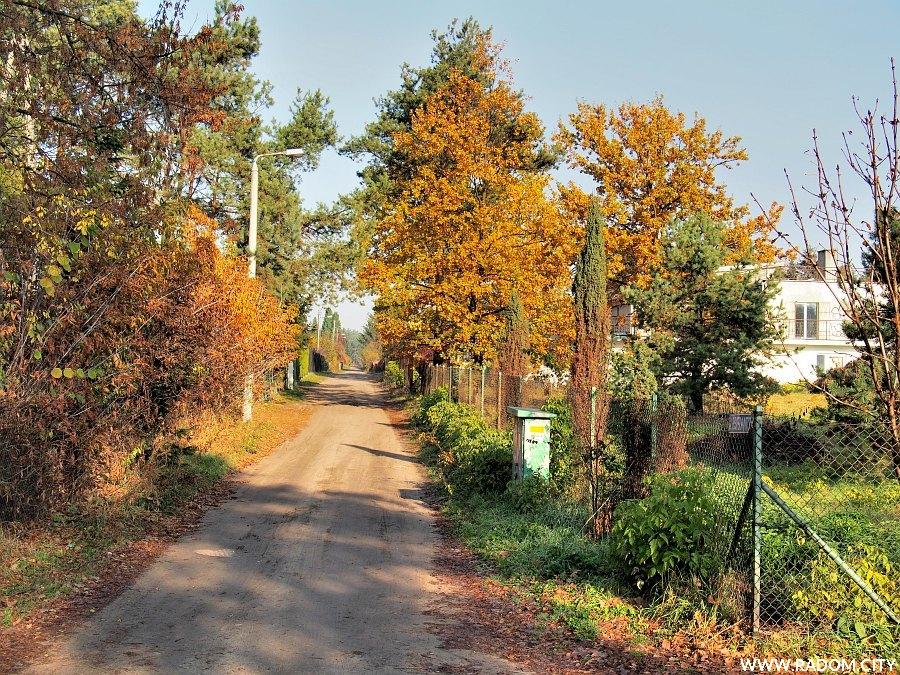 Radom. Ulica Esperanto z ul. Kozienickiej.