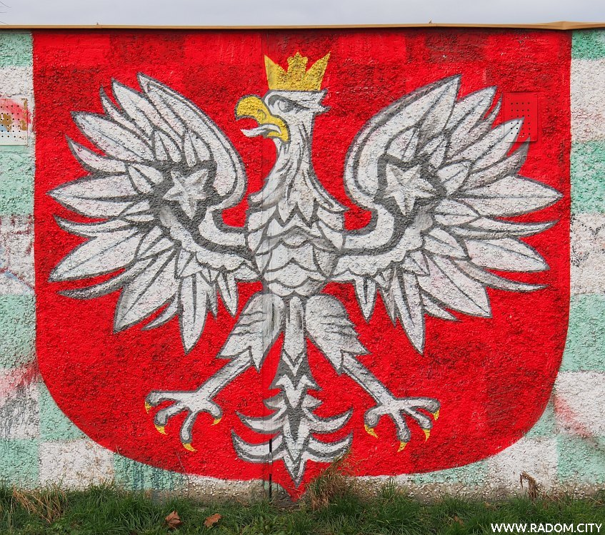 Radom. Graffiti Radomiak/Michałów.