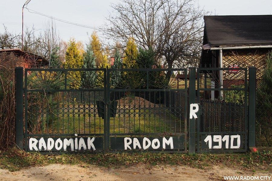 Radom. Napis RADOMIAK - ul. Kończycka.