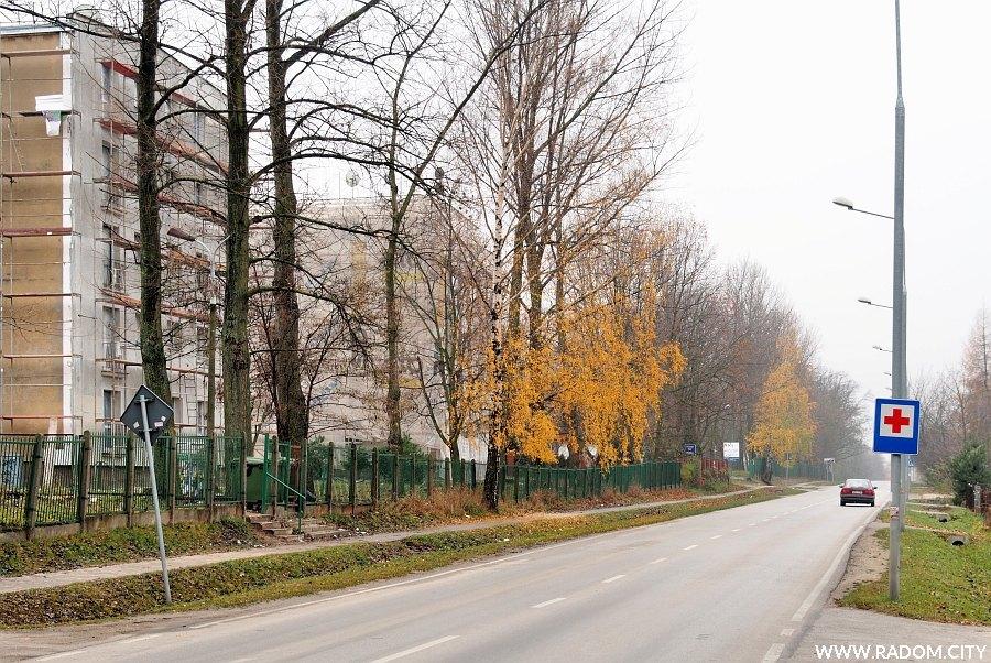 Radom. Ulica Krychnowicka z ul. Stawowej.