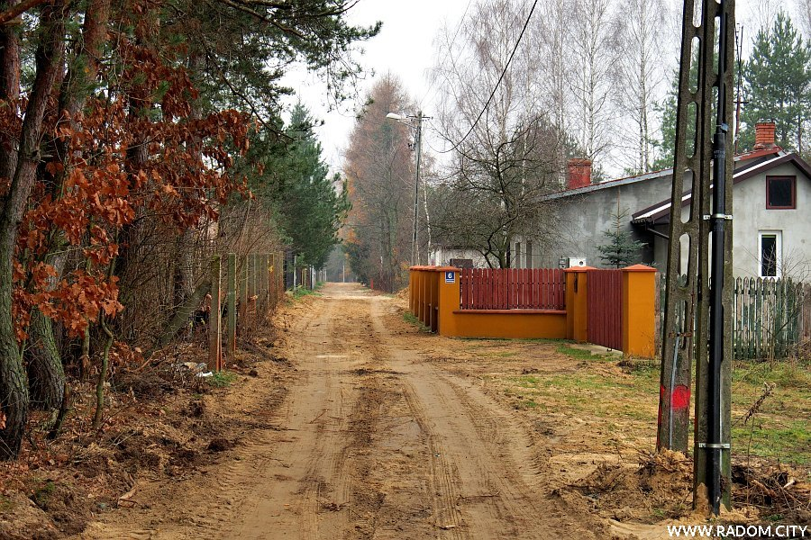 Radom. Ulica Chmielińskiego.