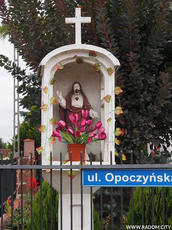 Radom. Kapliczka - Opoczyńska/Lipowa.