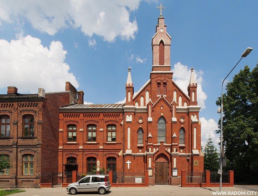 Radom. Kościół pw. Świętej Rodziny przy Kelles-Krauza.