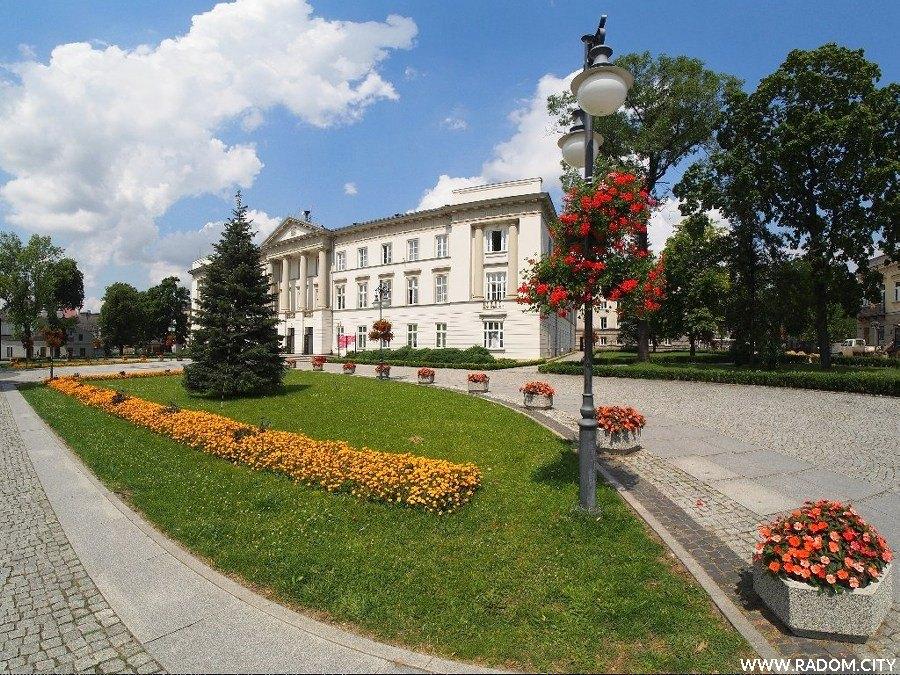 Radom. Gmach Komisji Województwa Sandomierskiego.