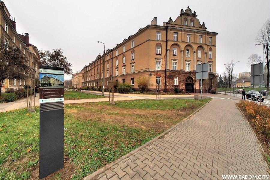 Radom. Ulica Broni i Poniatowskiego.