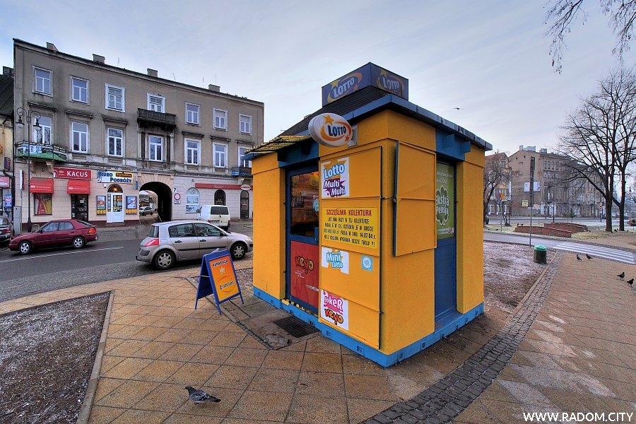 Radom. Kolektura przy ul. Wałowej.