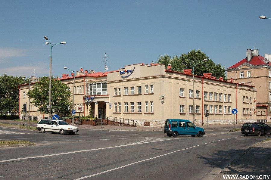 Radom. Skrzyżowanie ulic 1905 Roku i Tadeusza Kościuszki.