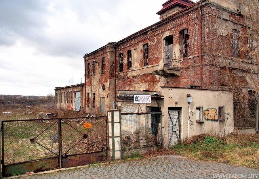 Radom. Stara gerbarnia przy ul. Warszawskiej.