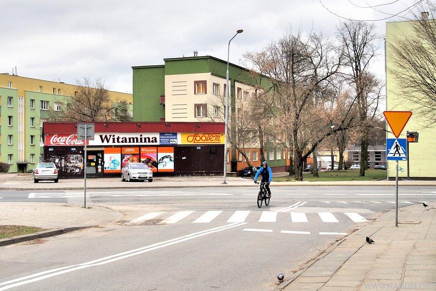 Radom. Widok ze Sportowej na Struga.