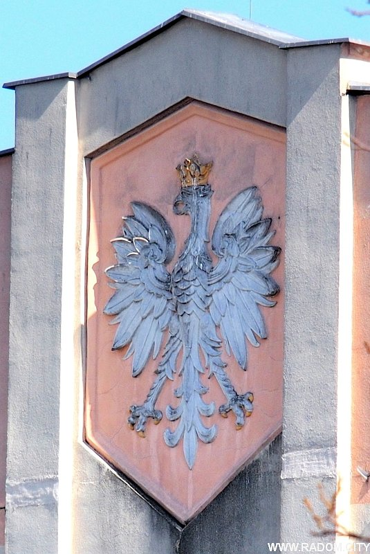 Radom. Orzeł - Zakłady Tytoniowe.