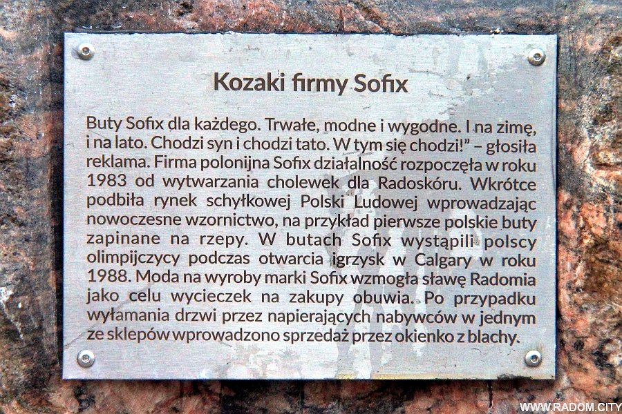 Radom. Buty Sofix na Szewskiej.