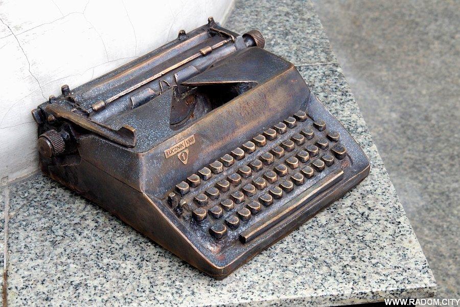 Radom. Maszyna do pisania - USC.