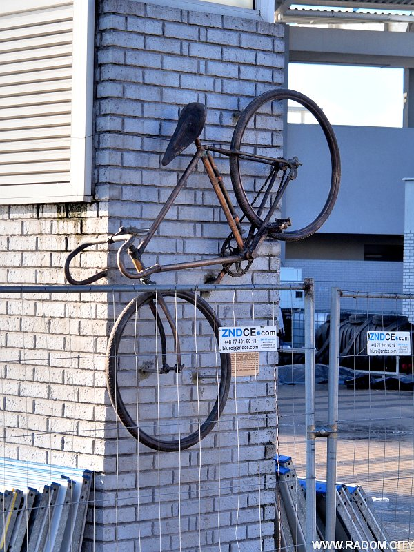 Radom. Rower - Narutowicza/MOSIR.