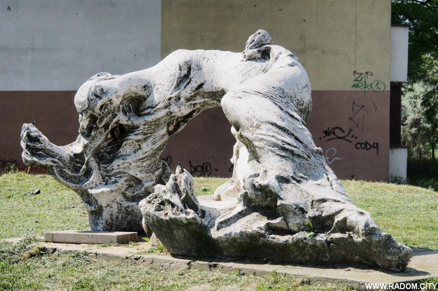 Radom. Rzeźba/Gagarina 25.
