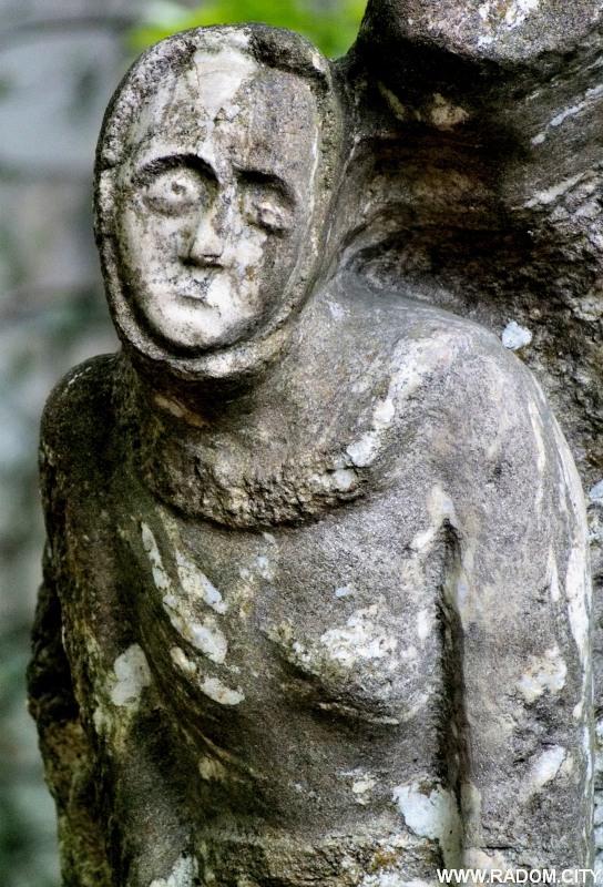 Radom. Rzeźba przy ul. Giserskiej.